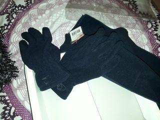 juego de guantes y bufanda