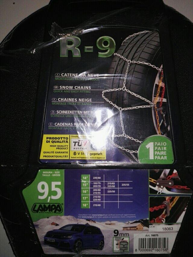 """cadenas de nieve R-9 14""""-18"""""""
