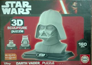 puzzle Star Wars en 3D esculpture, Darth Vader