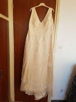 Vestido novia Jesus Peiro