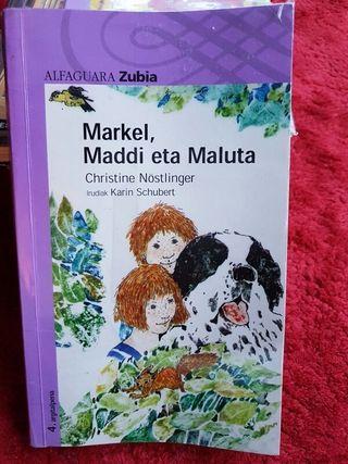 """Libro de lectura """"Markel Maddi eta Maluta"""""""