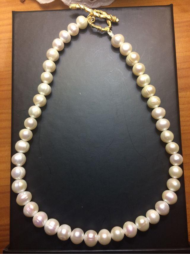 7cfaa097ad61 Collar de perlas naturales japonesas Akoya de segunda mano por 60 ...
