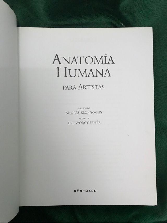 Anatomía Humana para Artistas de segunda mano por 15 € en Córdoba en ...