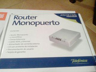 Router monopuerto