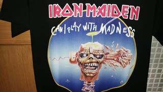 camiseta iron maiden can i play with madness