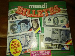 Mundi Billetes, álbum de billetes