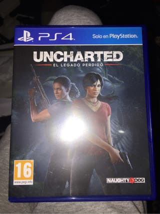 Juego ps4 UNCHARTED