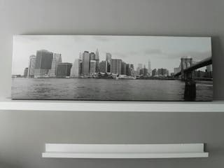 Cuadro Nueva York, con bastidor