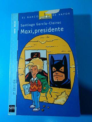 libro MAXI , PRESIDENTE