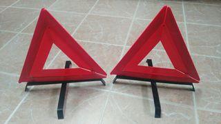 Triangulos de emergencia.