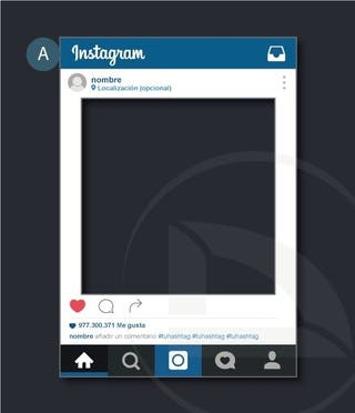 vinilo Photocall Instagram