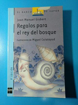 libro REGALOS PARA EL REY DEL BOSQUE