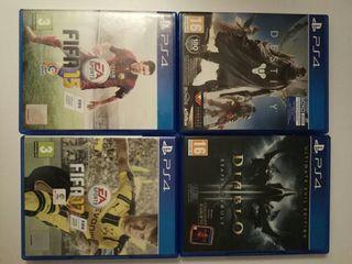 Juegos play PS4