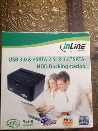 Docking station lector Hd