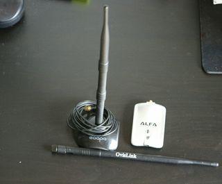 Antena wifi larga distancia