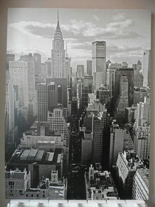 Cuadro Nueva York con bastidor