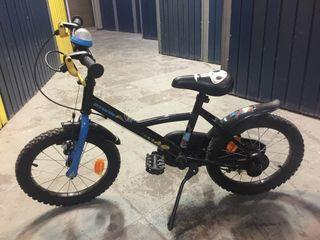 Bicicleta para niño btwin