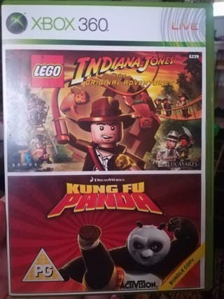Indiana Jones y Kung Fu Panda