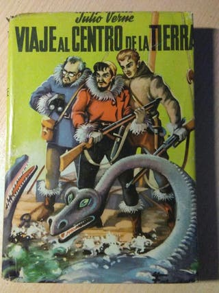 Libro, viaje al centro de la tierra, julio Verne