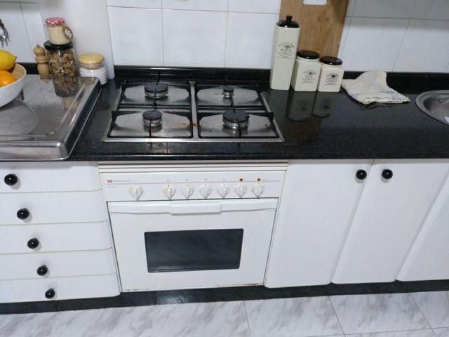 Cocina de gas y horno