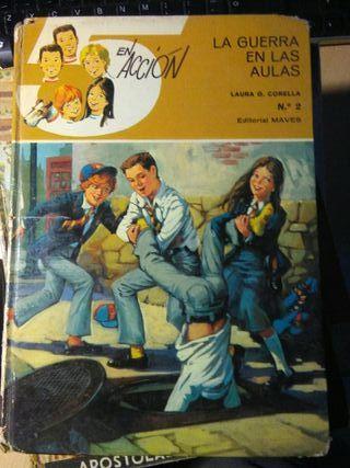 Libro, 5 en accion, la guerra en las aulas