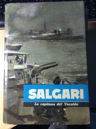 Libro, la capitana del yucatan, Salgari