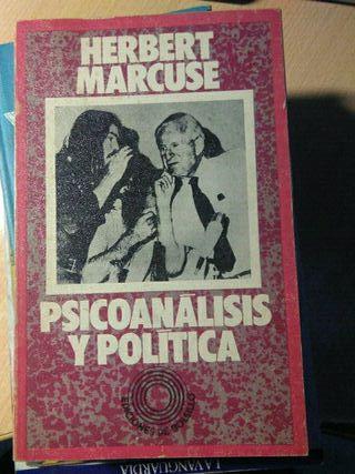Libro, psicoanalisis y politica, Herbert Marcuse