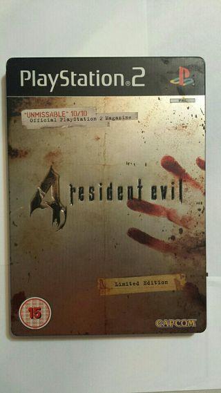 Resident Evil 4 edición limitada ps2