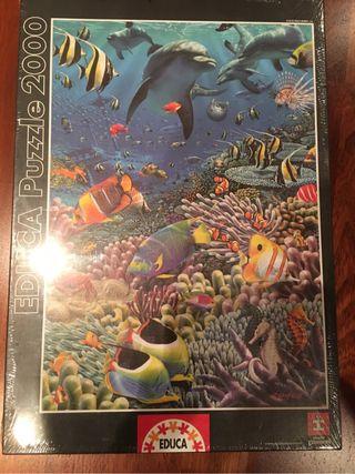 Puzzle 2000 piezas x estrenar