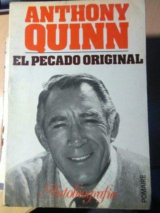 Libro, El pecado original, Anthony Quinn