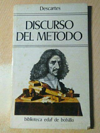 Libro, discurso del metodo, Descartes