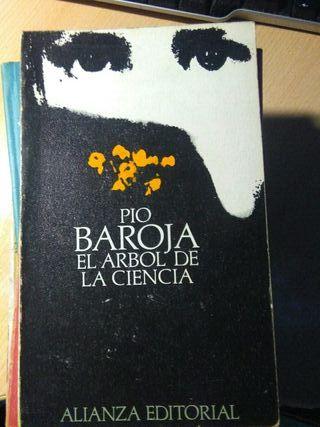 Libro, el arbol de la ciencia, Pio Baroja