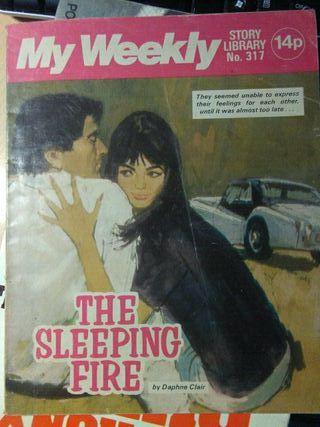 Libro, the sleeping fire