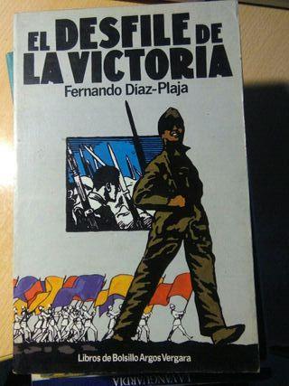 Libro, el desfile de victoria, fernando diaz plaja