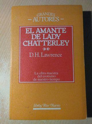 Libro, el amante de lady chatterley, D.H.Lawrence