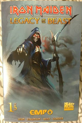 Comic Iron Maiden Legacy of the beast