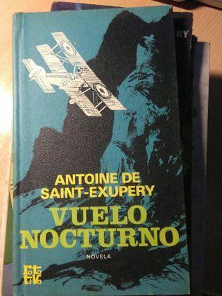 Libro, Vuelo nocturno, antoine de saint exupery