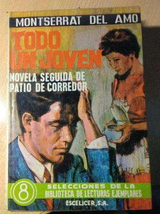 Libro, todo un joven, montserrat del amo