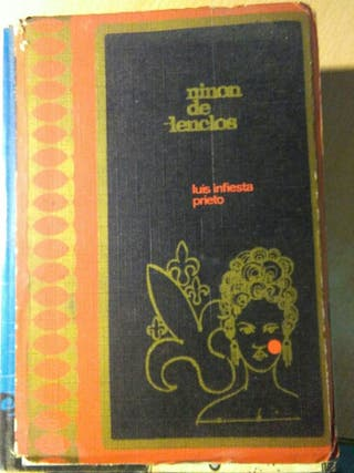 Libro, ninon de lenclos, luis infiesta prieto