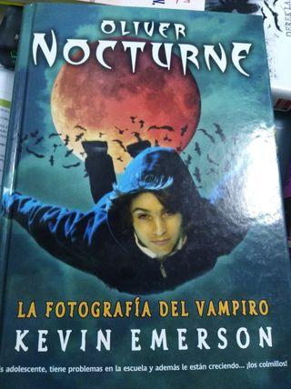 libro Oliver nocturne