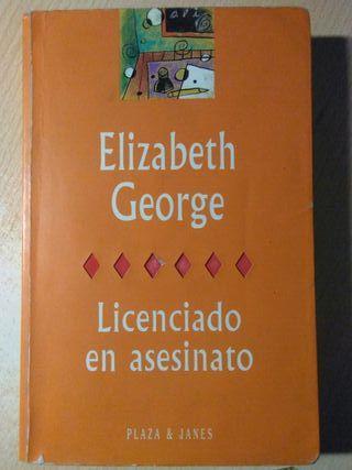 Libro, licenciado en asesinato, elizabeth george