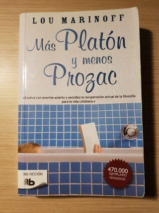Más Platón y menos Prozac. libro.