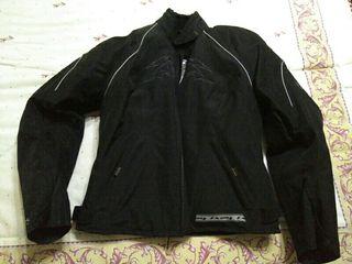 traje moto mujer