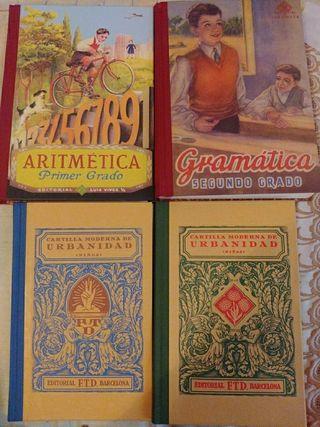 Pack libros antiguos MUY BUEN ESTADO