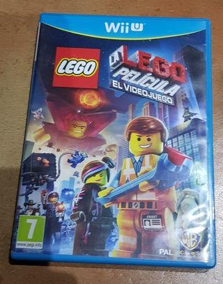 Juego WiiU Lego La Película