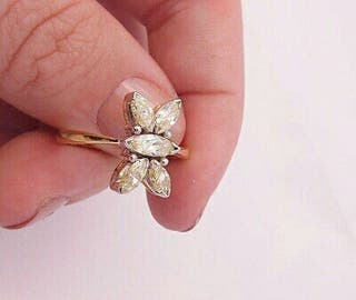 Oro 18kt y 1'40ct Diamantes