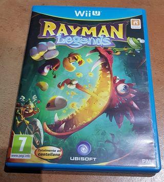 Juego Rayman Legends WiiU