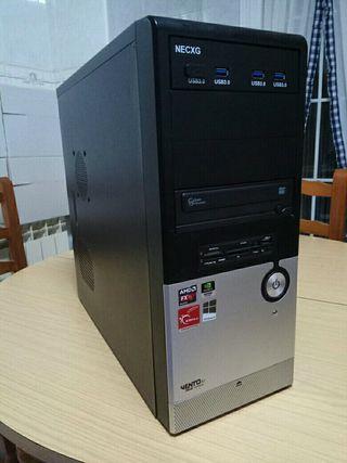 Torre ordenador amd fx6100 3,3Ghz NVidia gtx650