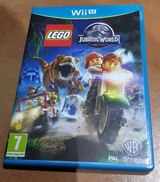 Juego WiiU Lego Jurassic World como nuevo