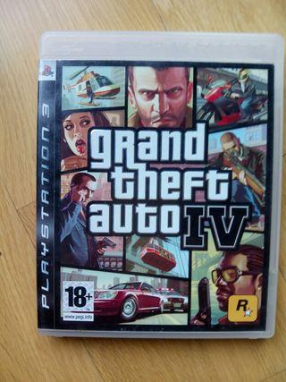 Juego PS3 GTA 4